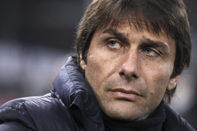 Le salaire d'Antonio Conte sera payé pour plus... (PHOTO MARCO BERTORELLO, AFP)