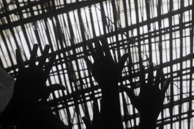 Treize détenus brésiliens se sont évadés d'une prison de l'État de Goias, à... (Photo archives Reuters)