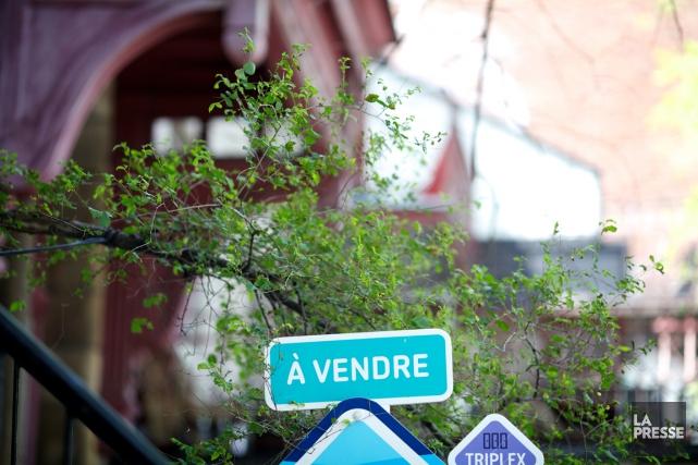 Les ventes résidentielles canadiennes ont augmenté de près d'un pour cent en... (PHOTO SARAH MONGEAU-BIRKETT, ARCHIVES LA PRESSE)