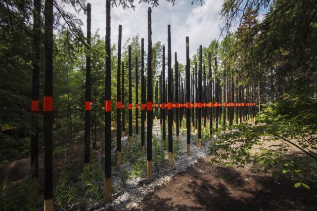Le Festival international de jardins est de retour pour une 15e année sur le... (Photo Louise Tanguay, fournie par les Jardins de Métis)