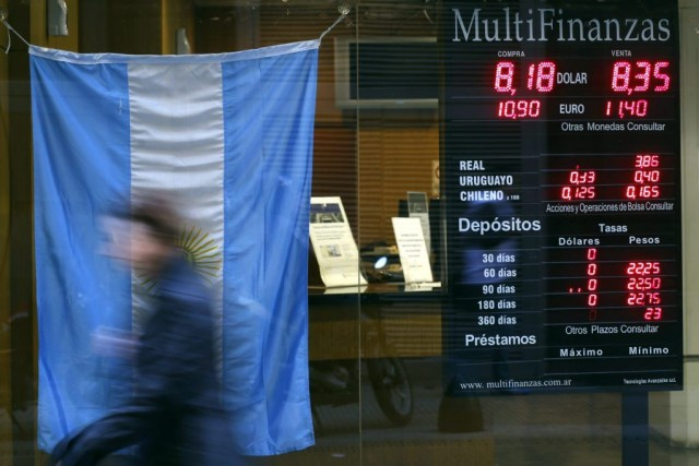 Un tribunal new-yorkais a estimé lundi que l'Argentine avait usé de voies... (PHOTO MARCOS BRINDICCI, ARCHIVES REUTERS)