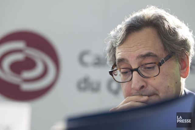 Michael Sabia, président de la Caisse de dépôt... (Photo Ivanoh Demers, Archives La Presse)