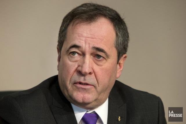 Le secrétaire général de la FTQ, Serge Cadieux... (PHOTO ROBERT SKINNER, LA PRESSE)