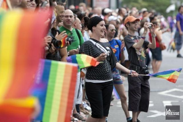 Le défilé débutera à 13h, sur le boulevard... (PHOTO ROBERT SKINNER, ARCHIVES LA PRESSE)