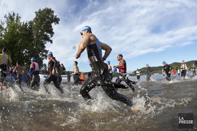 L'Ironman, c'est le triathlon poussé à l'extrême. Et... (Photo Hugo-Sébastien Aubert, archives La Presse)