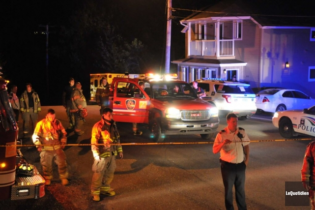 Selon la police, l'homme provenant de Chicoutimi aurait... (Photo Michel Tremblay, Le Quotidien)