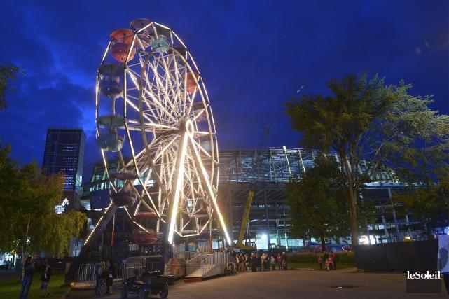 Même s'il n'y aura pas de fête estivale à ExpoCité en 2016, le propriétaire de... (Photothèque Le Soleil, Jean-Marie Villeneuve)