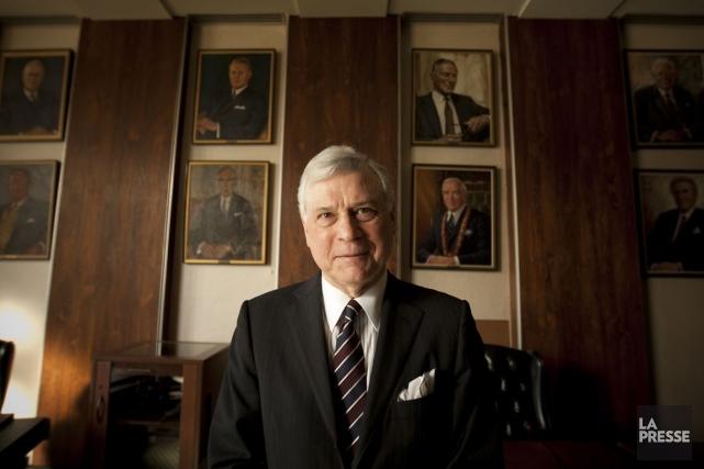 Peter Trent, maire de Westmount.... (PHOTO FRANÇOIS ROY, Archives LA PRESSE)