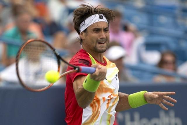 David Ferrer affrontera Roger Federer en finale, dimanche.... (PHOTO AARON DOSTER, USA TODAY)