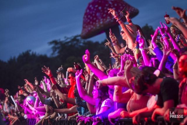 Le premier festival îleSoniq s'est déroulé au parc... (PHOTO OLIVIER PONTBRIAND, LA PRESSE)