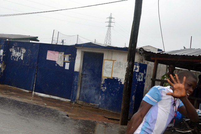 Le lycée attaqué avait été récemment choisi par... (PHOTO ZOOM DOSSO, AFP)
