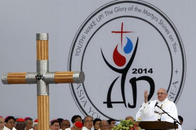 Le pape François a souligné les priorités de... (Photo Kim Hong-ji, AP)