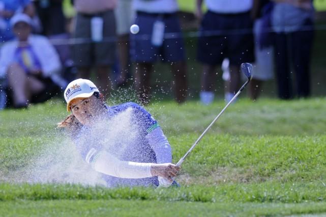 La joueuse Sud-Coréenne Inbee Parka remporté le cinquième... (Photo Mark Konezny, USA Today Sports)