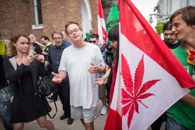Marc Emery, autoproclamé le «prince de la marijuana»... (Photo Geoff Robins, PC)