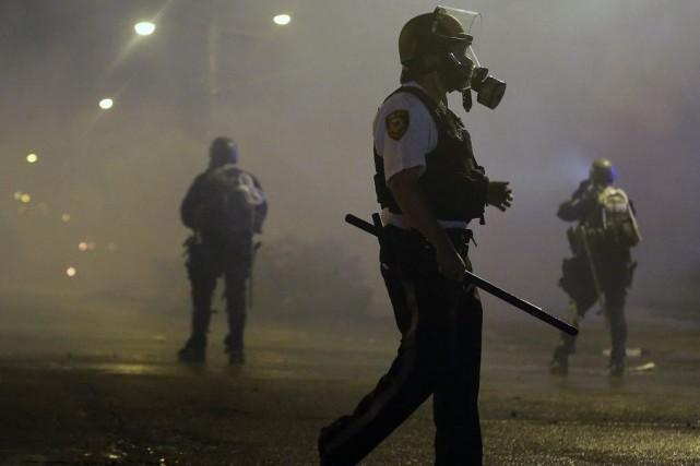 Les protestations durent depuis que la mort de... (Photo: AP)