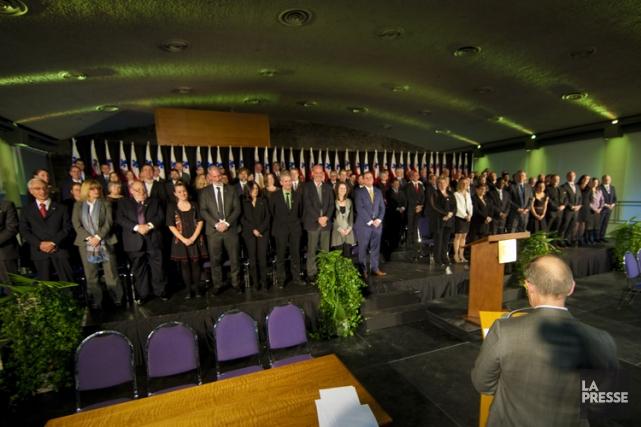 Les élus de la Ville de Montréal, lors... (Photo: André Pichette, archives La Presse)