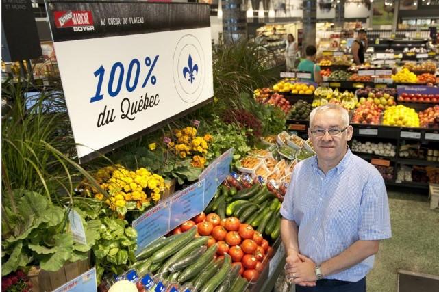 Franck Henault, propriétaire de l'IntermarchéBoyer.... (Photo Catherine Lefebvre, collaboration spéciale)