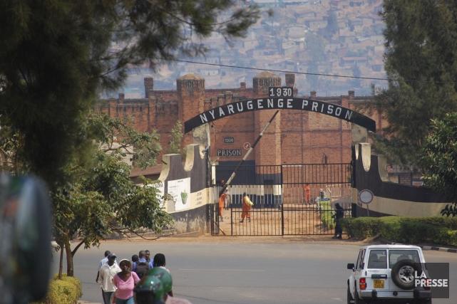 La prison de Nyarugenge, à Kigali, où est... (Photo Jean-Thomas Léveillé, La Presse)