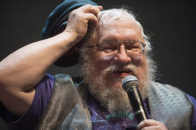 George R. R. Martin, auteur des romans dont... (Photo: archives AP)