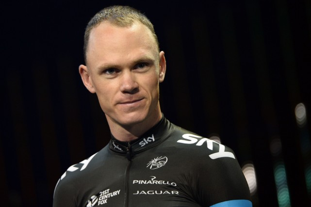 Chris Froome... (Photo Lionel Bonaventure, archives AFP)