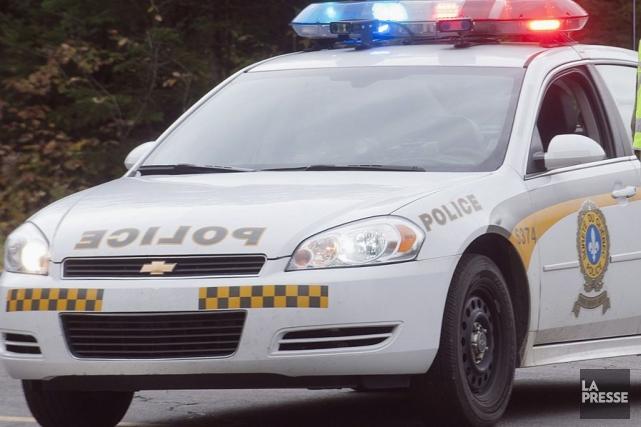 Un voleur de voiture a tenu en haleine les policiers ce matin à Saint-Prime. Le... (PHOTO ARCHIVES LA PRESSE)