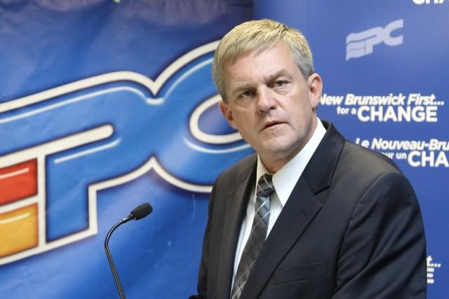 Le premier ministre du Nouveau-Brunswick, David Alward.... (Photo RON WARD, PC)