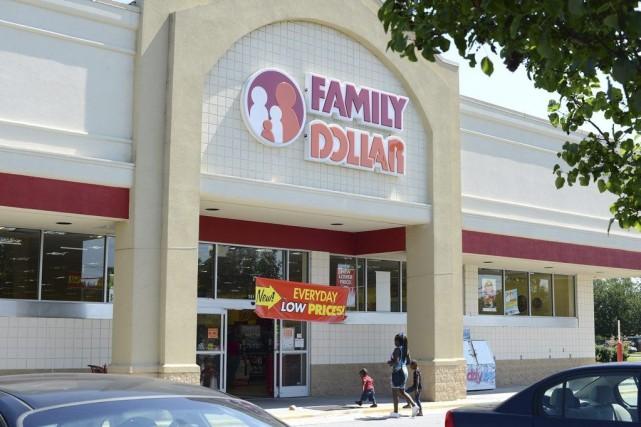 Un magasin Family Dollar de Kinston, en Caroline... (PHOTO JANET S. CARTER, AP)