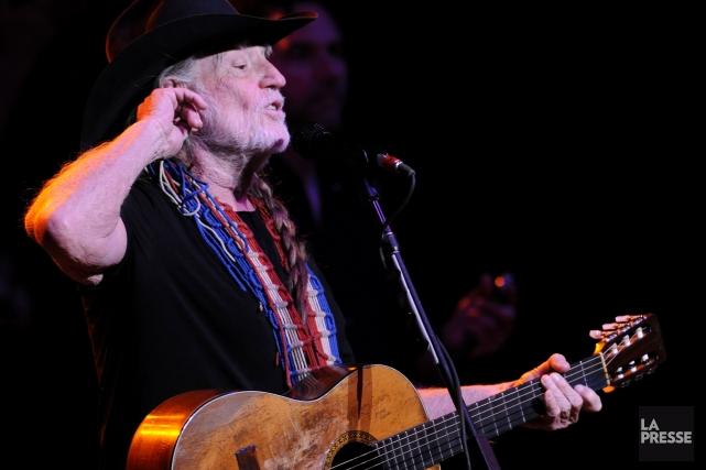 Willie Nelson et Neil Young seront les vedettes d'un concert présenté le mois... (Photo Bernard Brault, Archives La Presse)