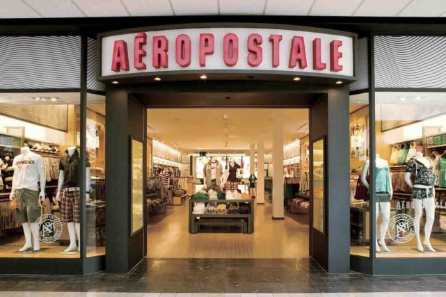 Le magasin Aéropostale de Chicoutimi... (Photo Archives)