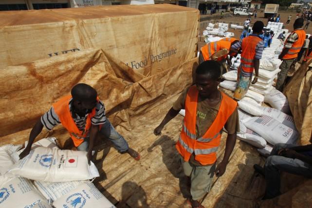 Au total, 155 humanitaires ont été tués, 171... (Photo LUC GNAGO, Reuters)