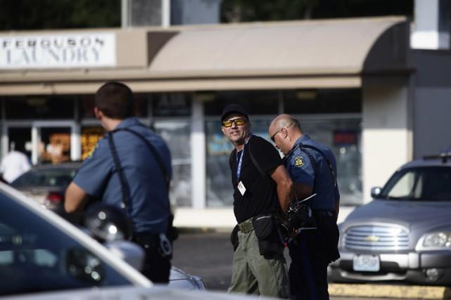 Scott Olson a été arrêté lundi lors d'une... (Photo: Reuters)