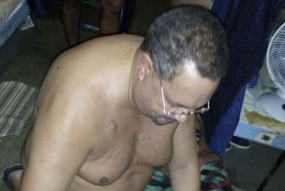 Arthur Porter dans sa prison au Panama en... (PHOTO TIRÉE DE TWITTER)