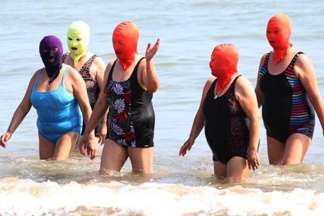 Le visage-kini est le nouveau moyen que les... (PHOTO ARCHIVES CFP/BBC)