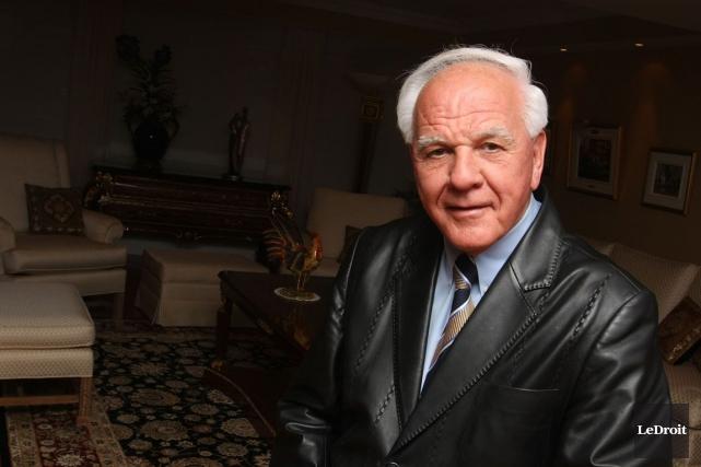 L'ex-maire de Gatineau, Robert Labine, appuie le projet... (Patrick Woodbury, Archives LeDroit)