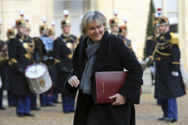 Nadine Morano, députée européenne UMP et ancienne ministre... (PHOTO PHILIPPE WOJAZER, ARCHIVES REUTERS)