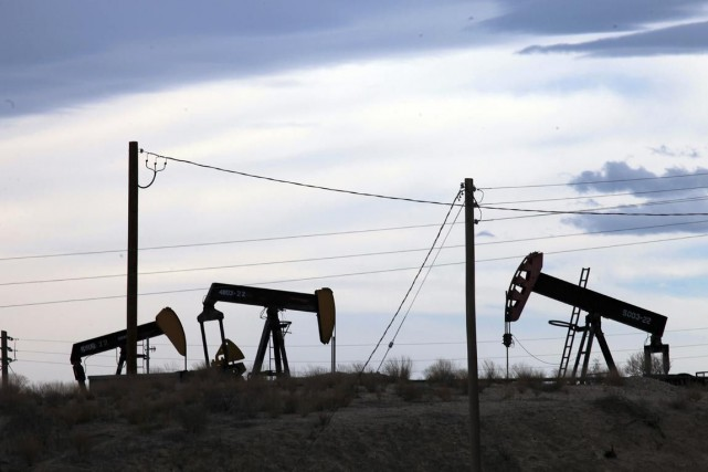 Le baril de «light sweet crude» (WTI) pour... (Photo Jim Wilson, Archives The New York Times)