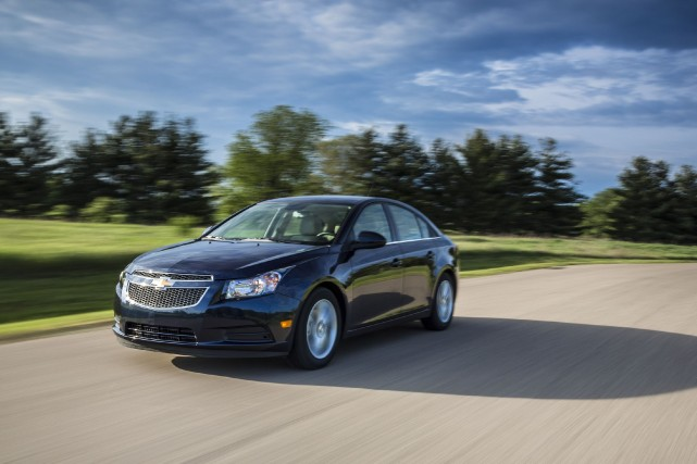 La Chevrolet Cruze diesel... (Photo fournie par General Motors)