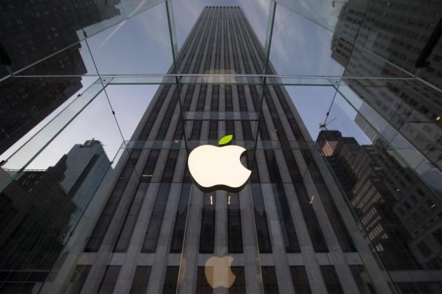 Le titre d'Apple a engrangé 1,38% sur la... (PHOTO BRENDAN MCDERMID, ARCHIVES REUTERS)