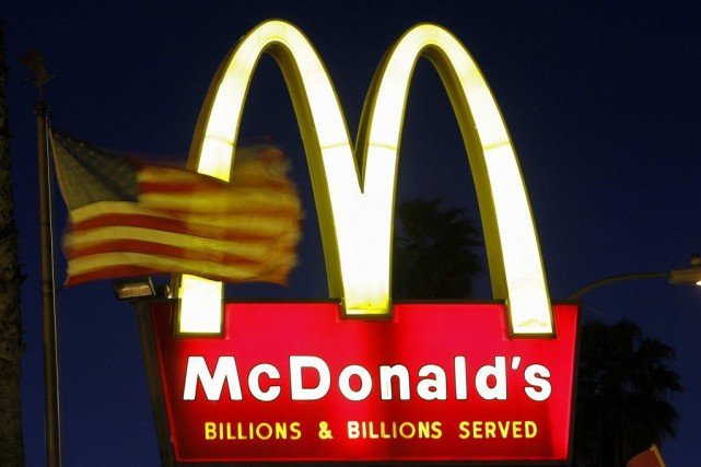 McDonald's a annoncé que son café sera vendu... (PHOTO MARIO ANZUONI, ARCHIVES REUTERS)