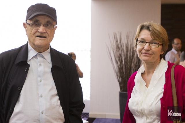 Le président du FFM, Serge Losique, et sa... (Photo: Ninon Pednault, archives La Presse)