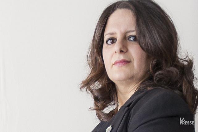 Sana Hassainia a été élue en 2011 dans... (PHOTO OLIVIER PONTBRIAND, ARCHIVES LA PRESSE)