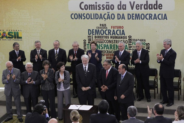 LaCommission de la Vérité mise en place en... (Photo Ueslei Marcelino, archives Reuters)
