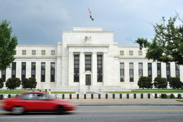 La Réserve fédérale (Fed) doit clore son soutien... (PHOTO KAREN BLEIER, ARCHIVES AFP)