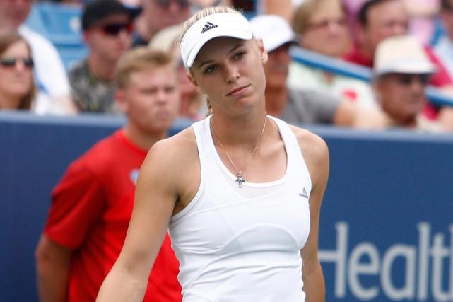Caroline Wozniacki... (Photo David Kohl, archives AP)