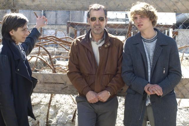 Maria Siebald, Cristian Campos et Niels Schneider dans... (Photo: fournie par la production)