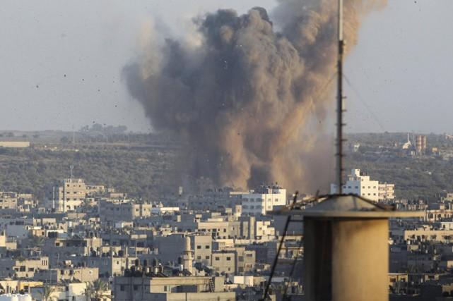 L'engrenage de la violence est désormais relancé dans... (Photo: Reuters)