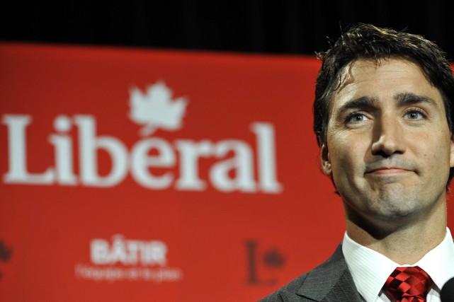 Le chef du PLC Justin Trudeau... (Photo DAN RIEDLHUBER, Archives Reuters)