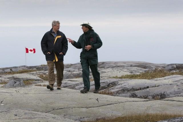 Harper exécutera son neuvième voyage dans le nord... (Photo Sean Kilpatrick, Archives PC)