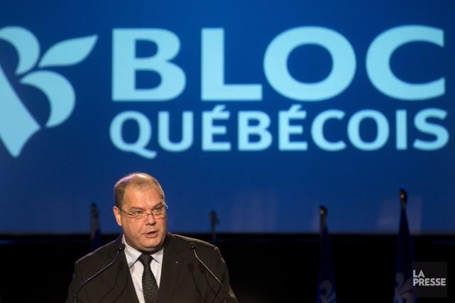 Alors que Mario Beaulieu, nouveau chef du Bloc,... (PHOTO ROBERT SKINNER, LA PRESSE)