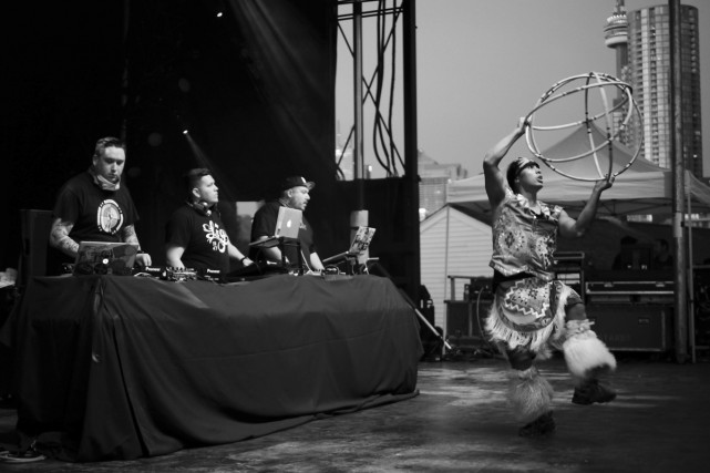 La formation amérindienne A Tribe Called Red est... (Photo: fournie par les artistes)
